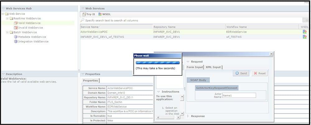 Testing webservice 1