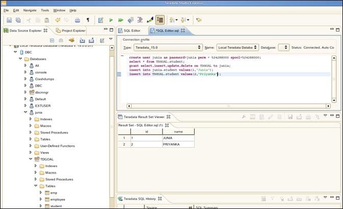 Configuration in Teradata VMware-2