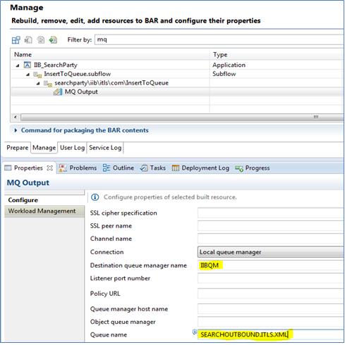 Configuring node properties